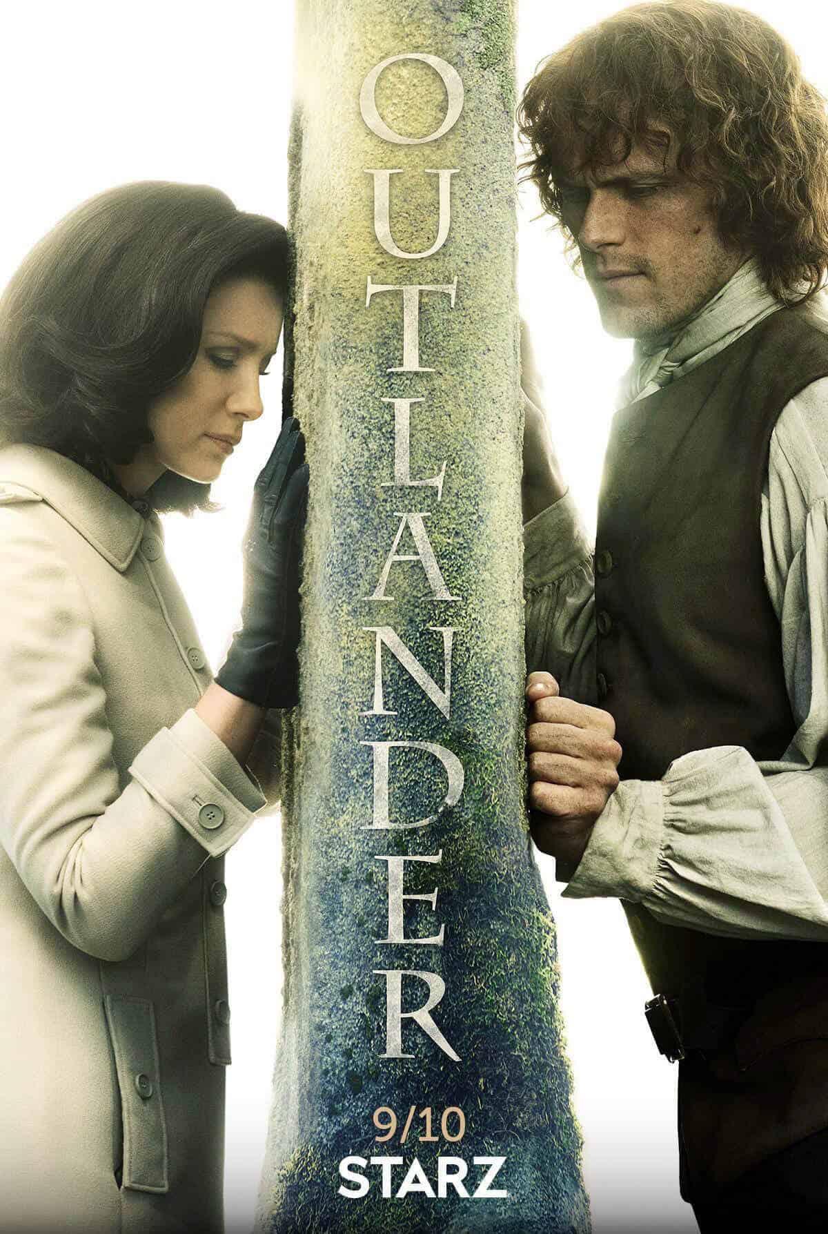 Outlander Season 3 logo from STARZ.