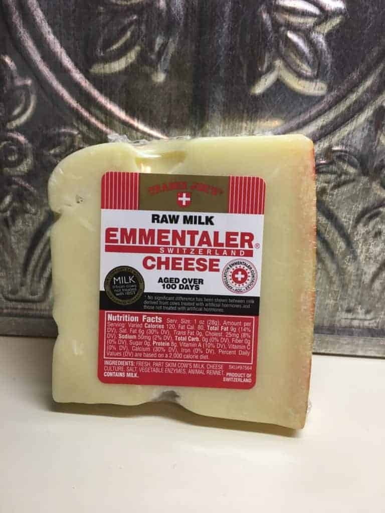 Emmentaler Cheese for Homemade French Onion Soup