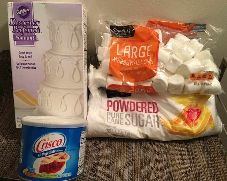 LMF Marshmallow Fondant ingredients