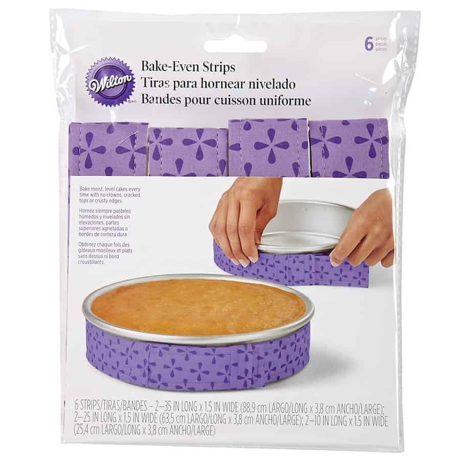 Bake Even Strips package
