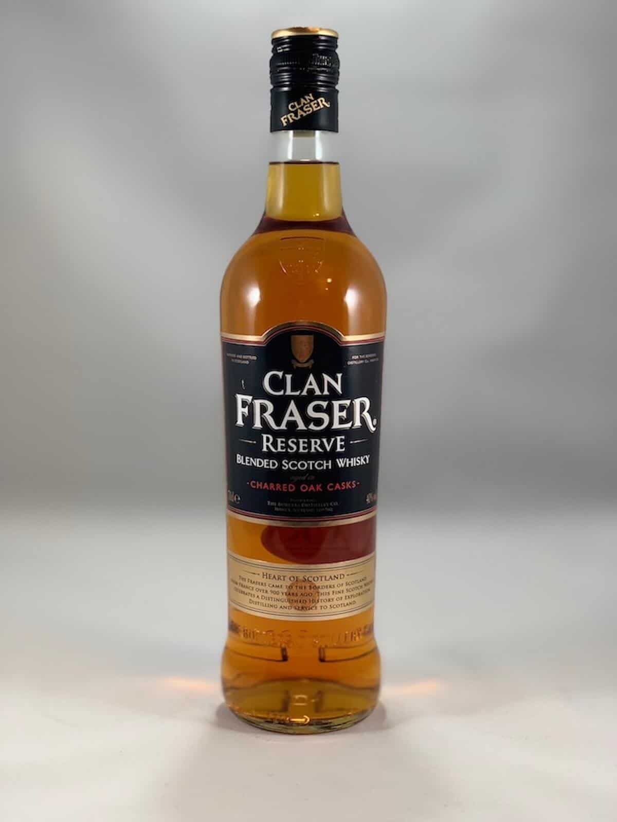 Clan Fraser Reserve bottle