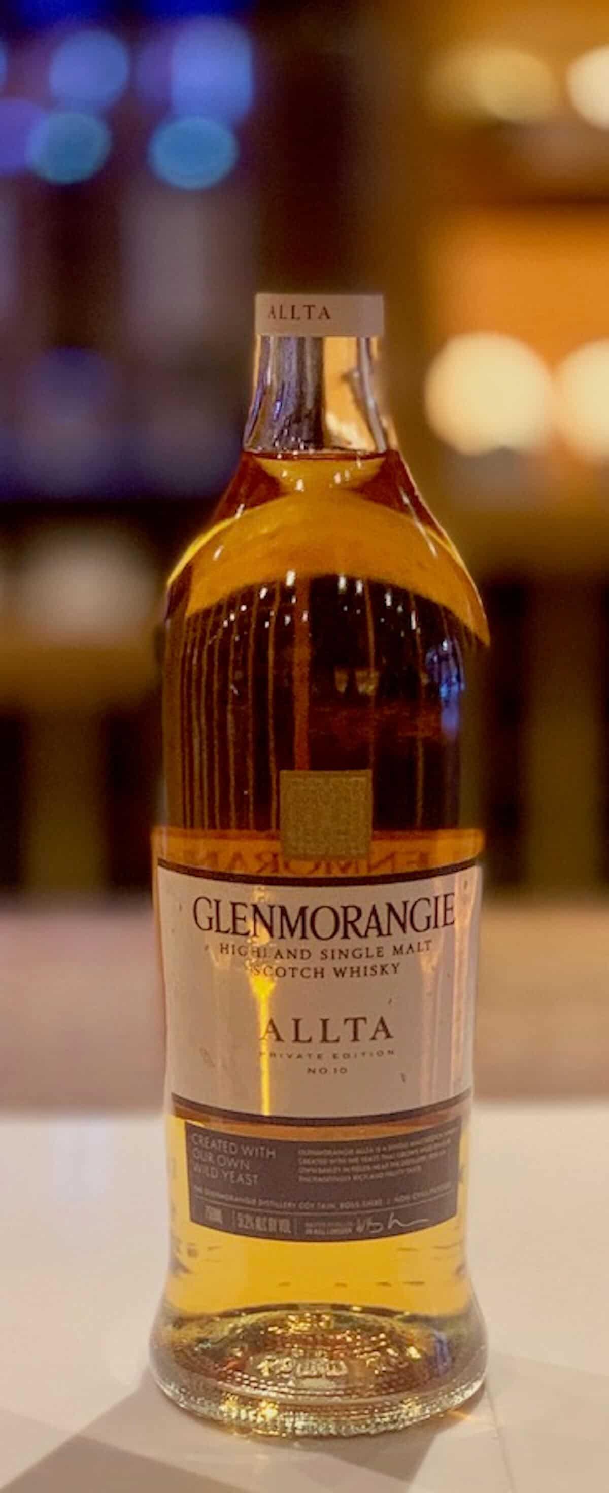 Glenmorangie Allta in bottle