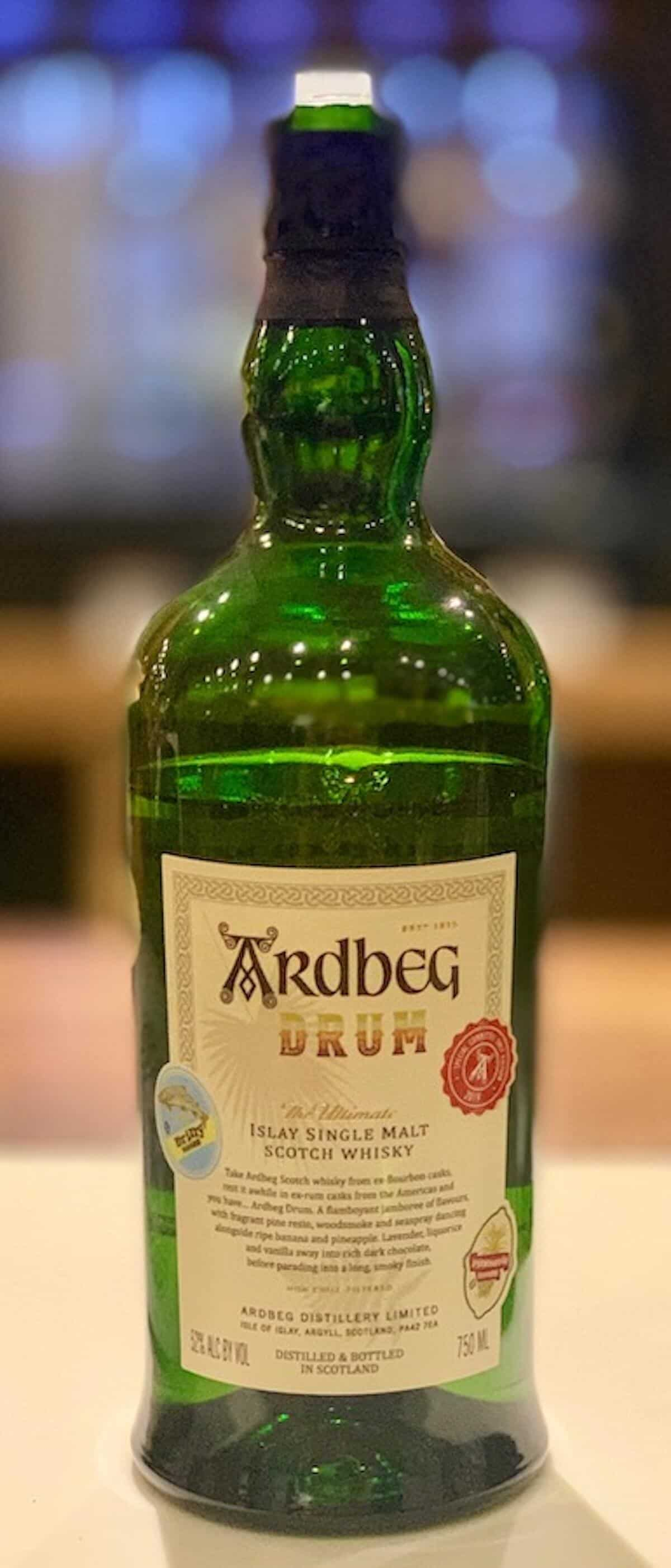 Ardbeg Drum in bottle