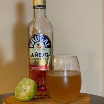 Grog ingredients with Brugal Rum