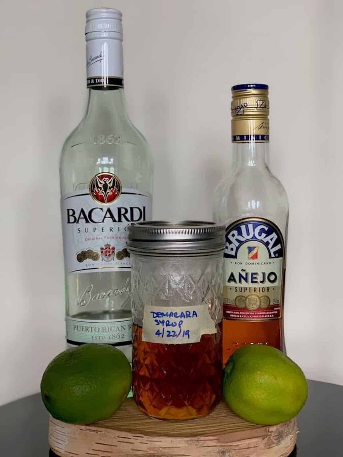 simple rum cocktails ingredients