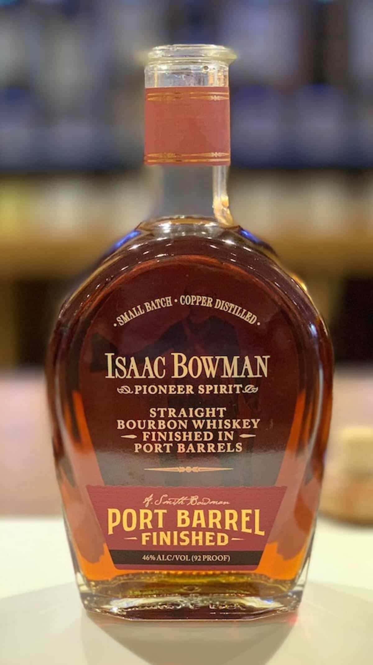 Isaac Bowman Port Finish in bottle