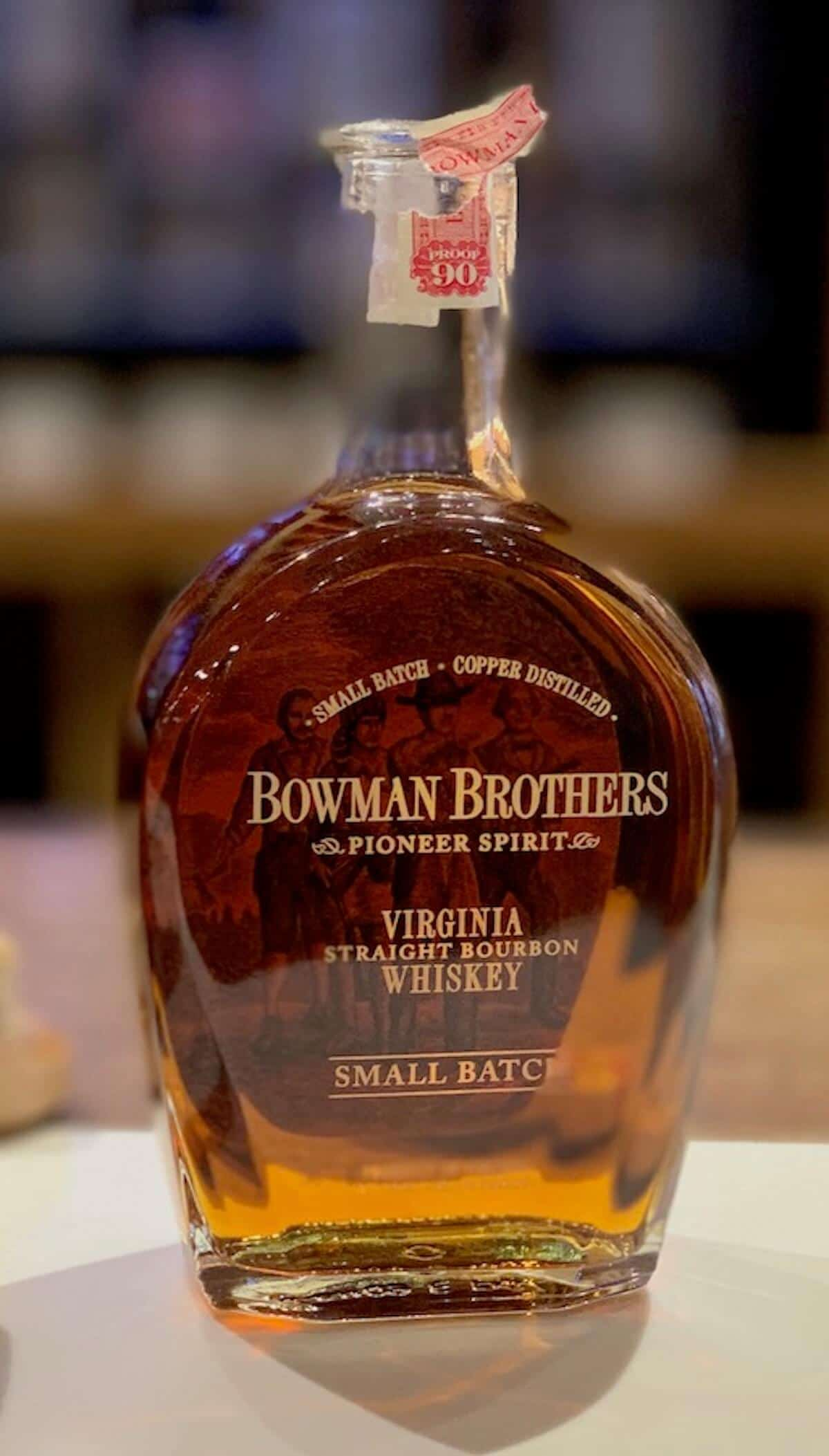 Bowman Brothers in bottle