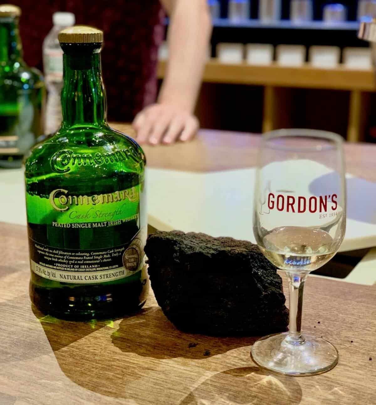 Connemara with peat and glass