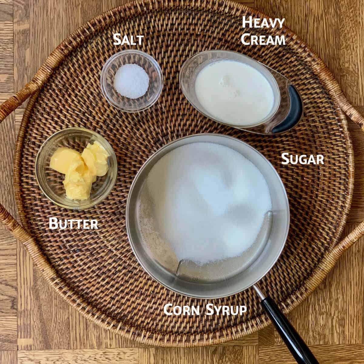 salted caramel sauce ingredients