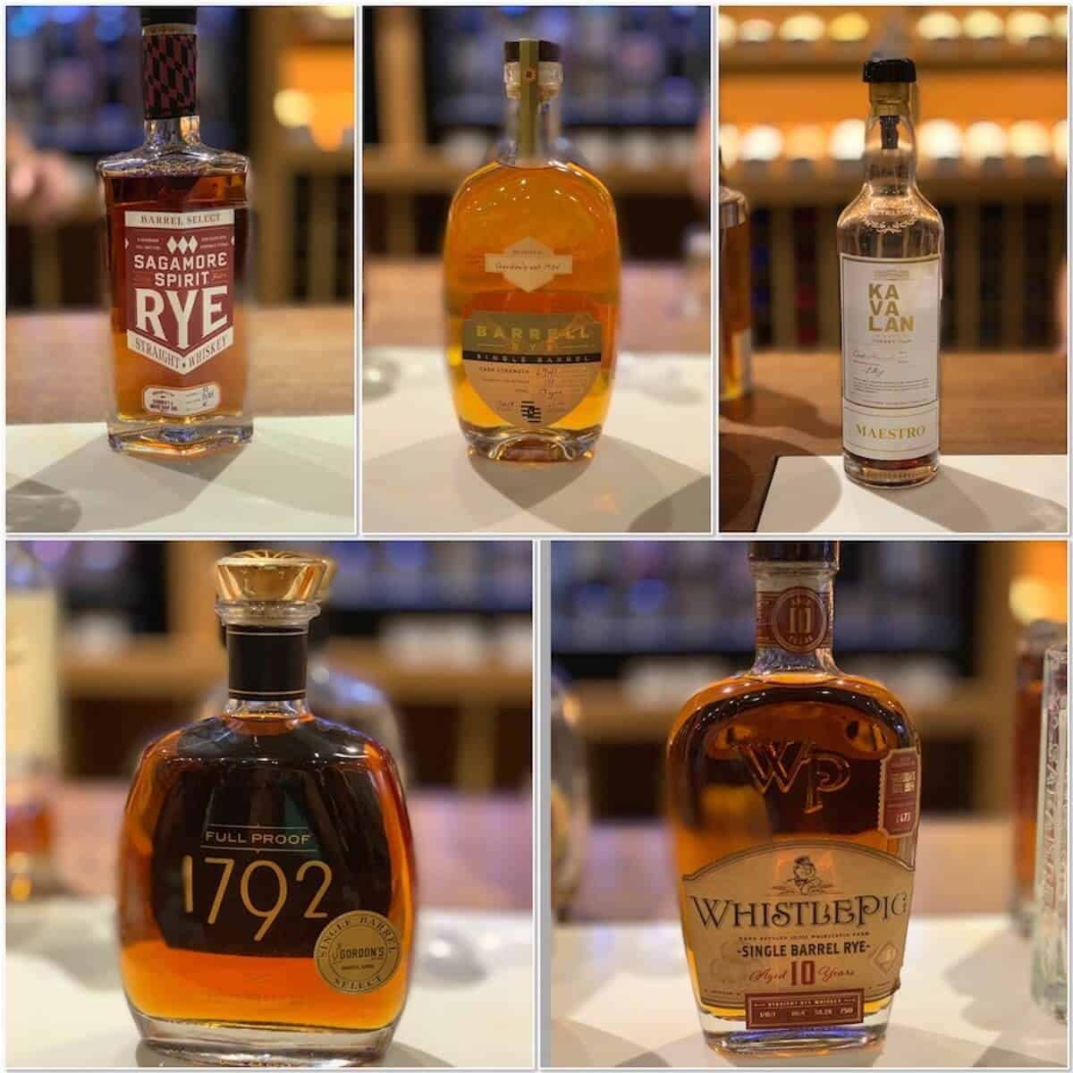 Gordon's Single Barrel Selection lineup