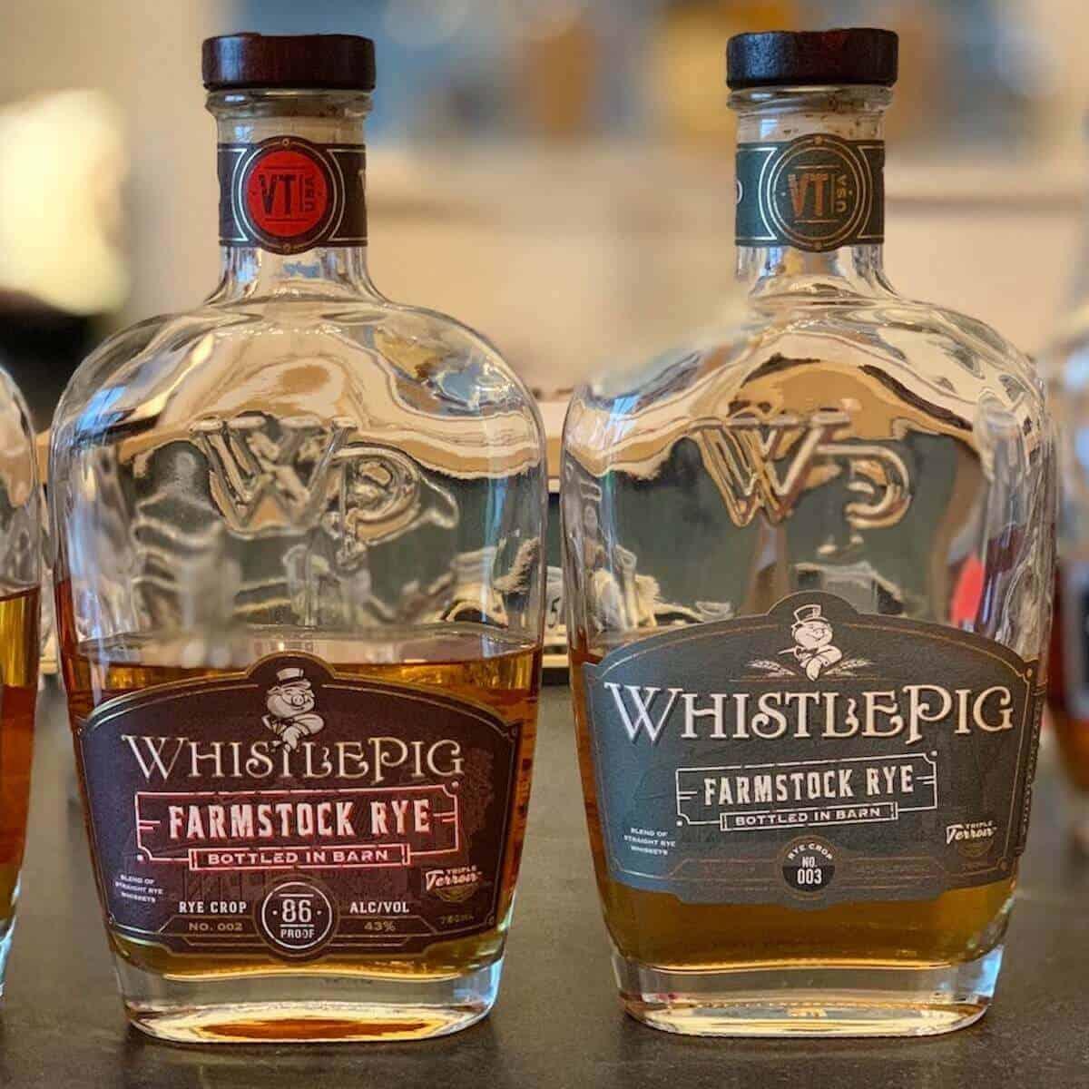 WhistlePig Rye Farmstock Crop Whiskeys