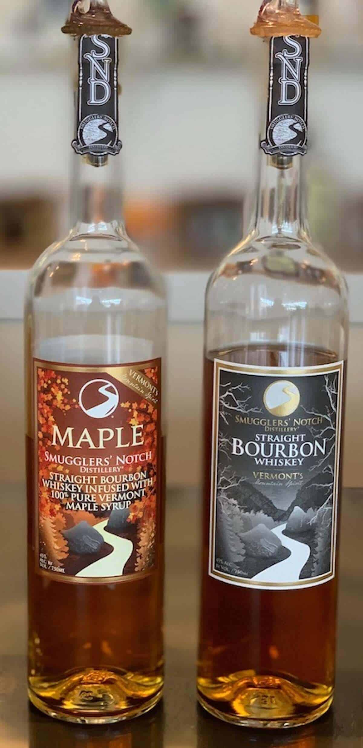 Smugglers' Notch Distillery Straight Bourbon Maple Bourbon