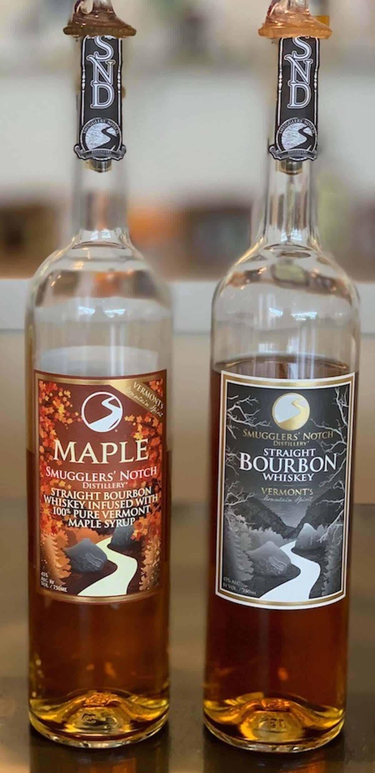 Smugglers' Notch Distillery Straight Bourbon Maple Bourbon