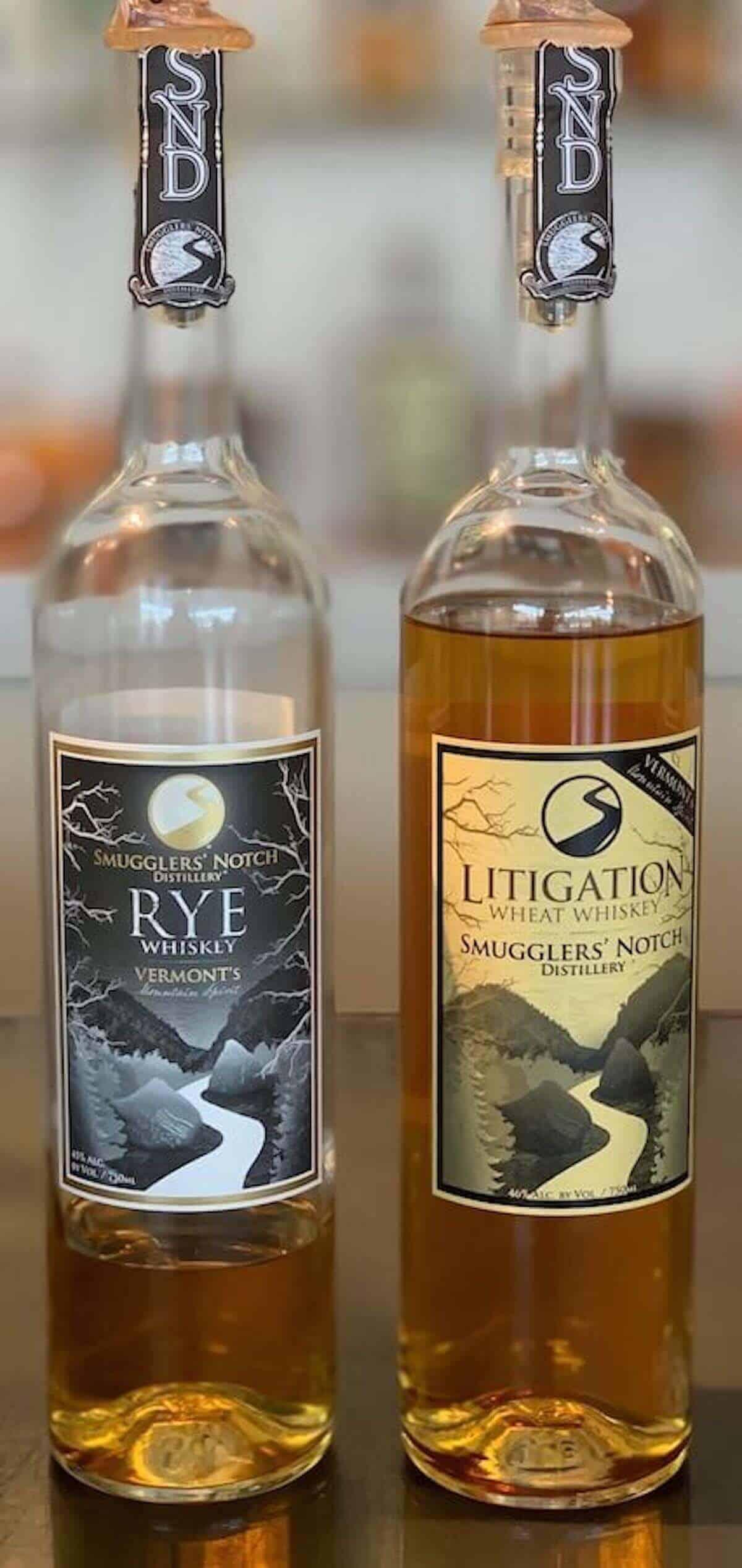 Smugglers' Notch Distillery Litigation wheat whiskey rye whiskey