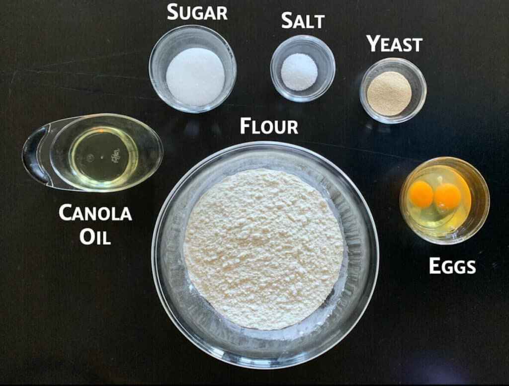 challah dough ingredients