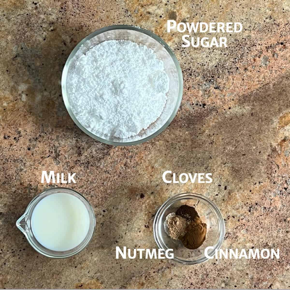 sourdough pumpkin bread glaze ingredients