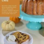 sourdough pumpkin cake pinterest banner