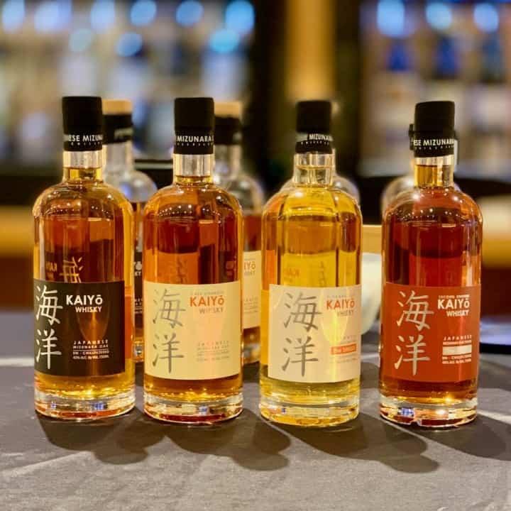Kaiyo Japanese Whisky lineup