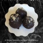 Tiramisu Truffles Pinterest banner